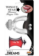 Wet Dreams Tongue Star Pleasure Tongue Vibe With Flavored...
